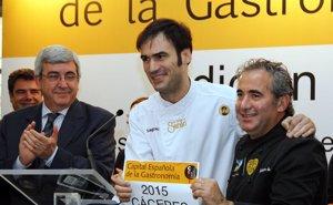Foto: Cáceres elegida como la 'Capital española de gastronomía en 2015' (EUROPAPRESS)
