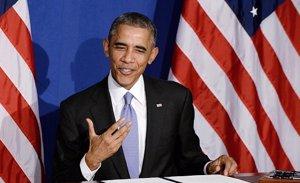 Foto: Rechazan la tarjeta de crédito de Obama en un resturante (GETTY)