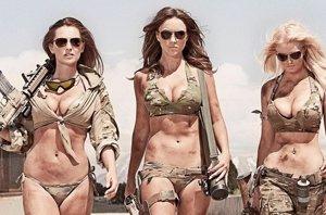 Foto: Las 'soldados' sexys y su gran polémica en una base militar de Utah (FACEBOOK/HOT SHOTS)