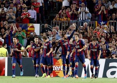 Foto: El Barça busca aire antes del clásico (GUSTAU NACARINO / REUTERS)
