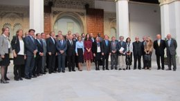 Foto: Eugenia Silva, nueva presidenta de la Junta de Protectores (EUROPA PRESS)