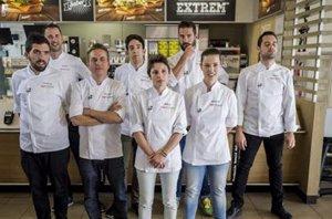 Foto: McDonald's  venderá la hamburguesa de Peña, el ganador de la inmunidad en Top Chef (TWITTER TOP CHEF)