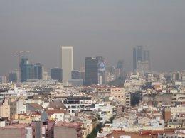 Foto: La capital supera los niveles de NO2 (EUROPA PRESS)