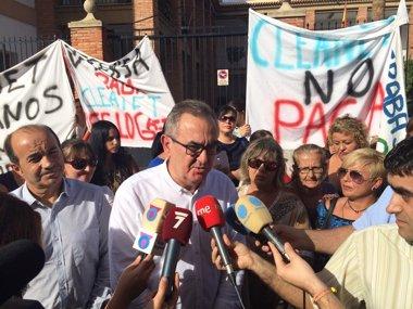 """Foto: PSOE exige al Ministerio de Defensa que solucione """"de forma inmediata"""" los problemas laborales del servicio de limpieza (PSOE)"""