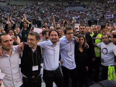 Foto: El sistema de votació per votar en bloc les propostes d' Iglesias descontenta (EUROPA PRESS)