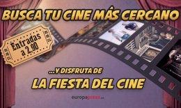 Foto: Fiesta del Cine: Busca el cine más cercano en tu municipio (EUROPA PRESS)