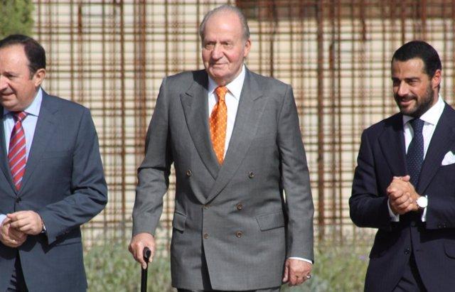 """Foto: El Rey Juan Carlos sobre Felipe VI: """"Está muy contento, ayudándole mucho"""" (EUROPA PRESS)"""