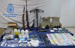 Foto: Detenidas 28 personas en una operación contra el menudeo de droga (POLICÍA)