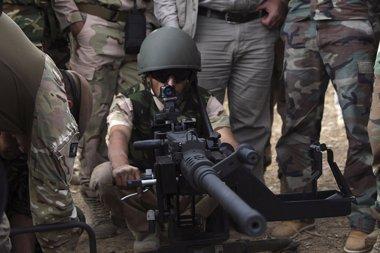 Foto: Luz verde al envío de peshmergas para defender Kobani (REUTERS)
