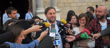 Foto: Junqueras apoya ante Mas el 9N pero con elecciones ya (EUROPA PRESS)