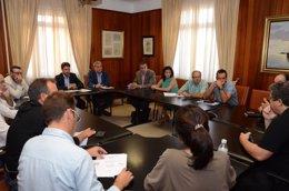 Foto: Las obras del Hospital del Sur continúan cumpliendo los plazos previstos (CEDIDA)