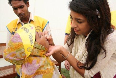 Foto: Los casos de polio se reducen en más del 99% en los últimos 25 años (RIBI IMAGE LIBRARY)