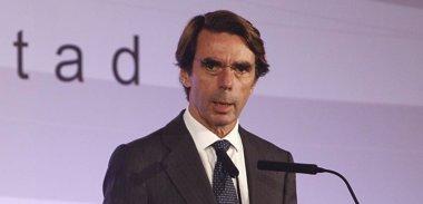 Foto: Aznar: El proyecto de convivencia español no necesita enmiendas a la totalidad (EUROPA PRESS)