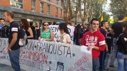 """Foto: La huelga estudiantil finaliza con """"importante"""" participación en manifestaciones provinciales (EUROPA PRESS)"""