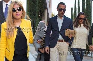 Foto: Chabelita y Alberto Isla,  al juzgado y comunicado por su hijo (RAÚL TERREL)