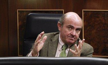 """Foto: Guindos confía en que banca española """"salga bien"""" del examen del BCE (EUROPA PRESS)"""