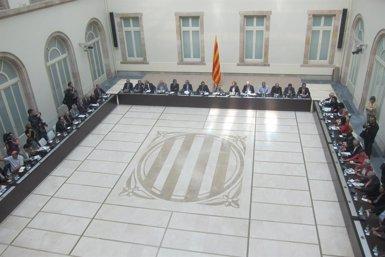 """Foto: Partits i entitats proconsulta es comprometen amb el 9N """"malgrat les seves limitacions"""" (EUROPA PRESS)"""