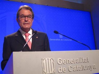 Foto: Mas no ve impugnable el nuevo 9N (EUROPA PRESS)