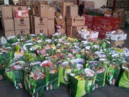 Foto: Más de 55.000 kilos de alimentos para  desayunos y meriendas infantiles (CRUZ ROJA)