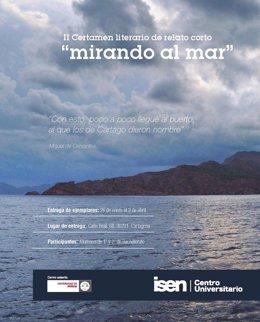Foto: El Centro ISEN convoca el II Certamen de Relato Corto 'Mirando al Mar' (CEDIDO)