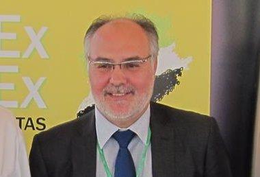 Foto: Estanislao Martín, elegido candidato de la coalición regionalista extremeña PREx CREx para las autonómicas de 2015 (EUROPA PRESS)