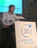 """Foto: Clavijo lanza un mensaje de unidad y señala que la """"esencia del cambio"""" de CC ha comenzado (CEDIDA)"""