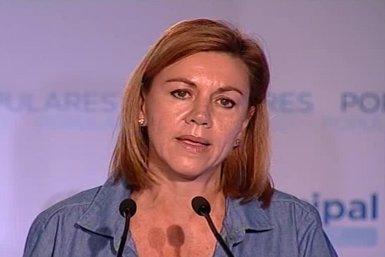 """Foto: Consulta.- Cospedal demana a Mas que deixi de """"crear problemes"""" als ciutadans (EUROPAPRESS)"""