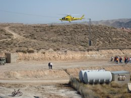 Foto: Más de 400 voluntarios de Protección Civil se dan cita en María de Huerva (DGA)