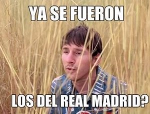 Memes del clásico Real Madrid vs Barcelona