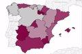 ¿EN QUE PARTES DE ESPANA SE COMETEN MAS ROBOS Y ASESINATOS?