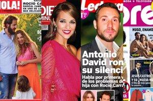 Foto: Blanca Suárez con Peter Vives, las náuseas de Kate Middleton y Jesús Castro consolado (EUROPA PRESS)