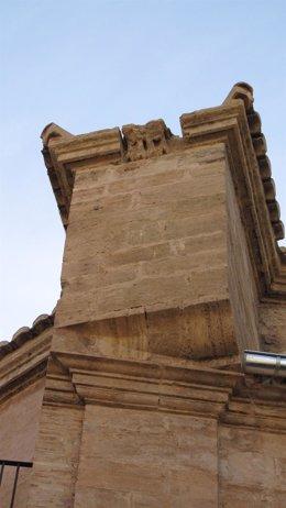 Foto: La restauración de la iglesia del Salvador de Valencia descubre restos de antiguas gárgolas renacentistas (AVAN)