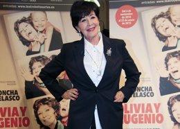 Foto: Concha Velasco recibe el Premio Nacional de Teatro 'Antero Guardia' (EUROPA PRESS)