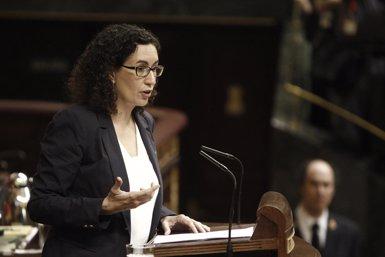 """Foto: Rovira diu que la """"denuncia política"""" contra el Govern espanyol s'enviarà a l'ONU (EUROPA PRESS)"""