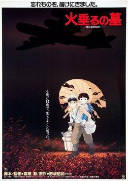 Foto: La Filmoteca projecta el clàssic d'animació 'La tumba de las luciérnagas' en el Festival de drets humans (CULTURARTS IVAC)