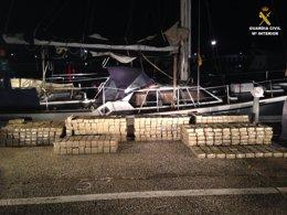 Foto: Veinte detenidos de una red entre España y Alemania que introducía hachís por la costa andaluza (GUARDIA CIVIL)