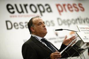 """Foto: Tebas: """"No revelarem les votacions dels Premis LFP"""" (EUROPA PRESS)"""