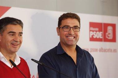 Foto: Belinchón se presentará a las primarias del PSOE (EUROPA PRESS/PSOE)