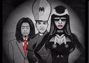 Foto: Nicki Minaj, ya ha matado a la 'Anaconda' (TWITTER)