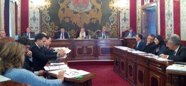 Foto: El pleno del Ayuntamiento de Alicante aprueba por unanimidad que imputados por corrupción no puedan ir las listas (EUROPA PRESS)