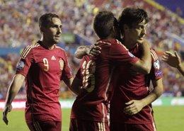 Foto: Silva se perderá los partidos contra Bielorrusia y Alemania por lesión (HEINO KALIS / REUTERS)