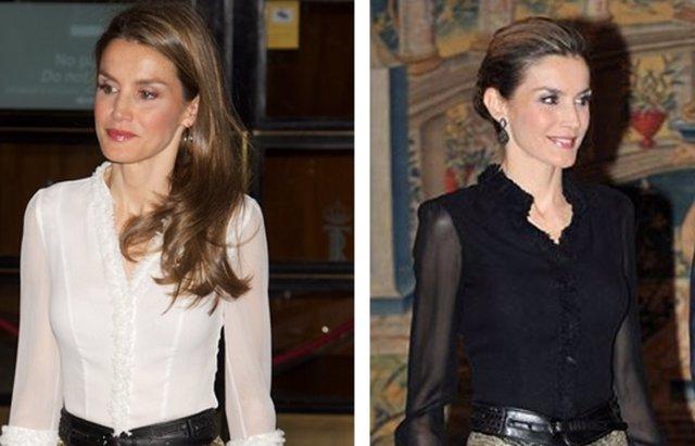 Foto: La Reina Letizia fiel a su estilo de cuando era Princesa (EUROPA PRESS)