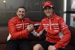 Foto: Francesco Bagnaia será el tercer piloto del MAPFRE Aspar Team en Moto3 (ASPAR TEAM)