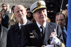 Foto: El Rey Juan Carlos I vuelve a reaparecer en el homenaje a Blas de Lezo en Madrid (EUROPAPRESS)