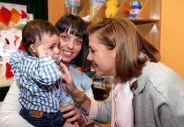 Foto: La Junta destina ayudas por más de 3 millones a 244 escuelas infantiles (EUROPA PRESS/JCCM)
