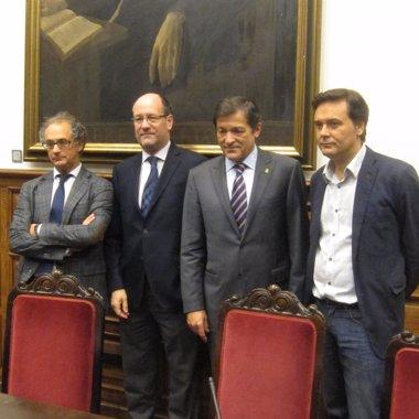 Foto: Javier Fernández urge un nuevo contrato social en Europa liderado por la socialdemocracia (EUROPA PRESS)