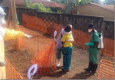 Foto: Ebola.- La crisi africana de l'Ebola exigeix més rapidesa en el diagnòstic (MÉDICOS SIN FRONTERAS)