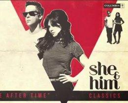 Foto: She & Him versionan a sus artistas favoritos en su nuevo álbum (SONY MUSIC)