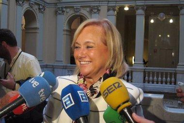 Foto: Mercedes Fernández (PP) destaca que el acuerdo con el Principado se compromete con el IES de la Fresneda (EUROPA PRESS)