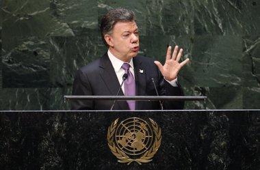 Foto: Santos ya conoce el lugar donde serán liberados los secuestrados (MIKE SEGAR / REUTERS)